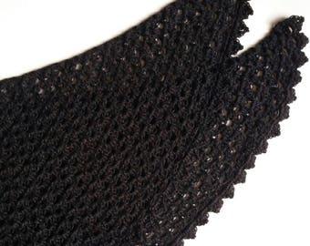 Blackbird Shawl Crochet Pattern Scarf PDF