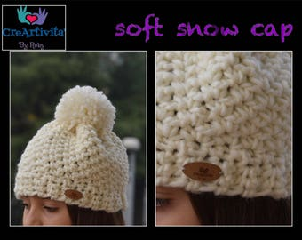 Soft snow cap