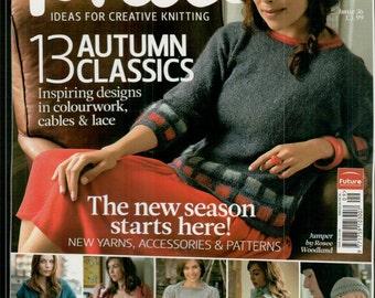 The Knitter Knitting Magazine Issue 36 September 2011