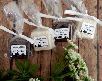 Mountain Wedding Favors Rustic Camp Wedding Forrest Wedding Mountain Range Outdoor Camping Favors Wedding Gift for Guests Soap Bridal Baby