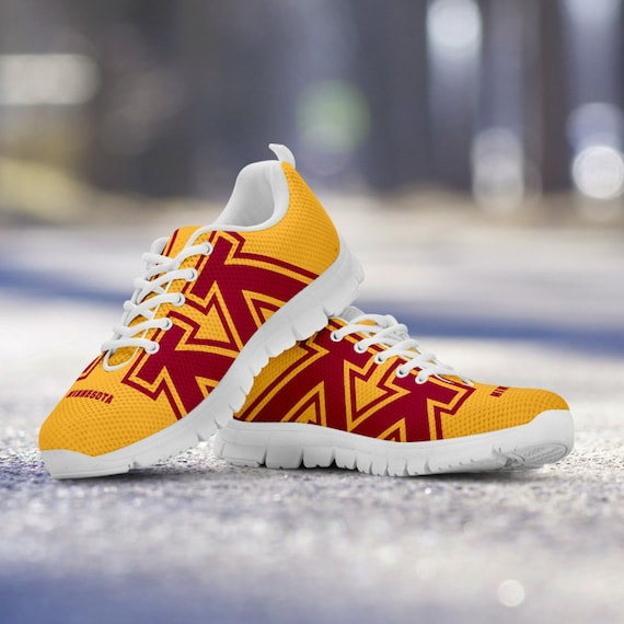 77354f98033f Mens Trainers Kids Gophers Ladies Minnesota Sizes Shoes Sneakers White  Golden Custom Unofficial 0wnxq5Azvx ...