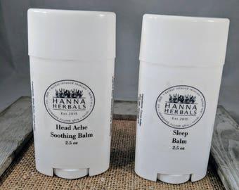 Stress Relief Gift Pack - Essential Oil Blends - Headache Relief - Sleep Stick - Anxiety Blend - Stress Blend