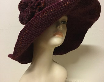 Wide brim hat, Mother's Day gift, Mother's Day, brimmed hats, retro hat, wedding gift, bridesmaid gift, womens hats, gift for her
