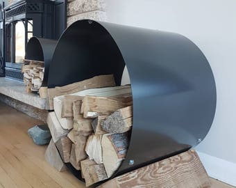 Firewood Holder | Firewood Rack | Firewood | Rustic Chic | Rack | Metal | Camp Fire | Wood Stove | Wood | Cabin Chic | Cabin | Storage