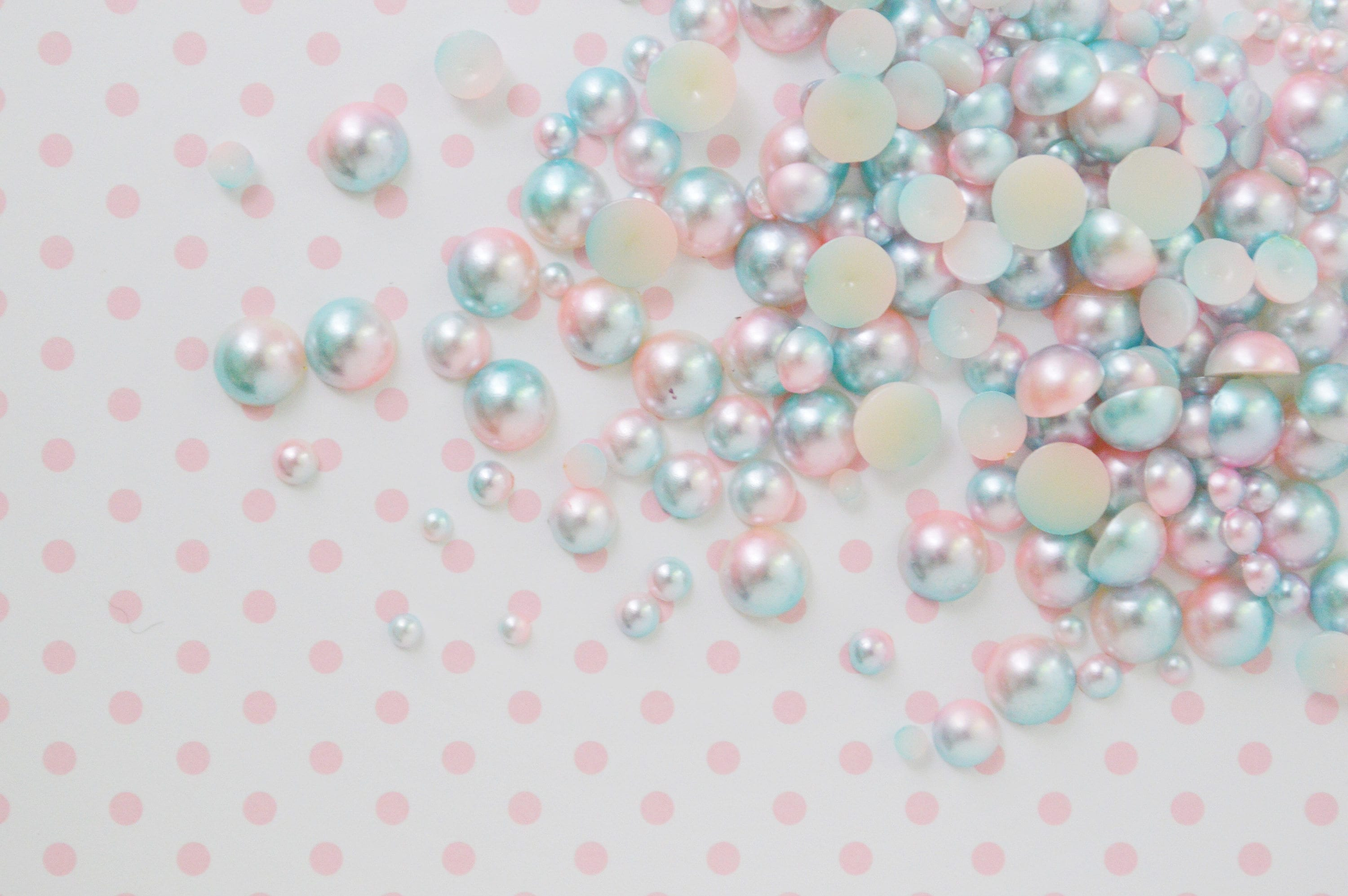 collections pearls round pastel bead pearl online addiction hot pink