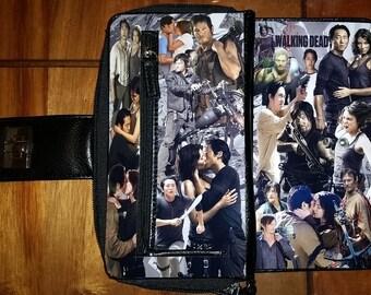 The Walking Dead Glen, Maggie, Darryl TV Women's Bi-Fold Wallet