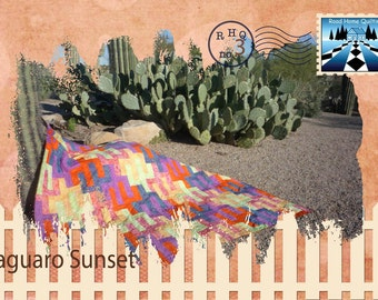 Saguaro Sunset Quilt Pattern