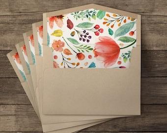Floridita lined envelopes - 10 pieces
