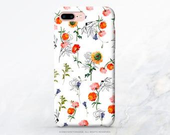 iPhone X Case iPhone 8 Case iPhone 7 Plus Case Peonies Floral iPhone 7 Case iPhone SE Case Tough Samsung S8 Plus Case Galaxy S8 Case T107