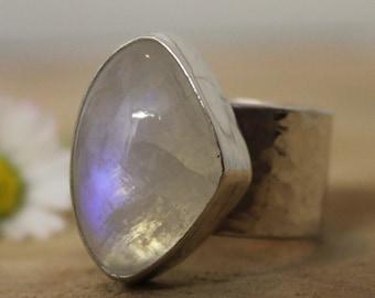 Statement Moonstone Ring