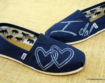 Bridal TOMS Shoes