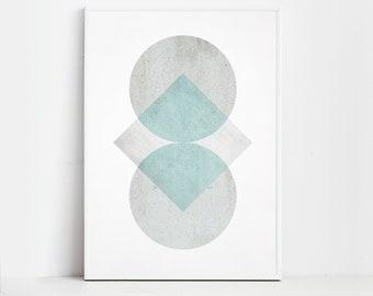Pastel Prints Geometric Art Geometric Prints Wall Art Prints Modern Prints Geometric Decor