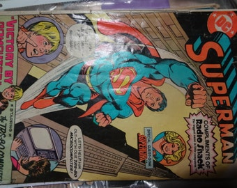 1981 DC Superman Comic Book