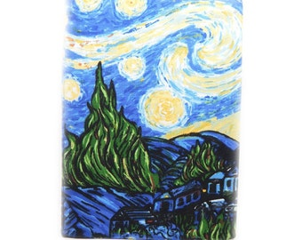 Kindle Touch cover - Starry Night - also fits Kindle Paperwhite -  eReader case - Van Gogh inspired landscape - Paper white kindle case
