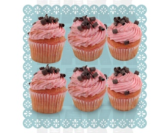 Strawberry Cupcake PNG Files