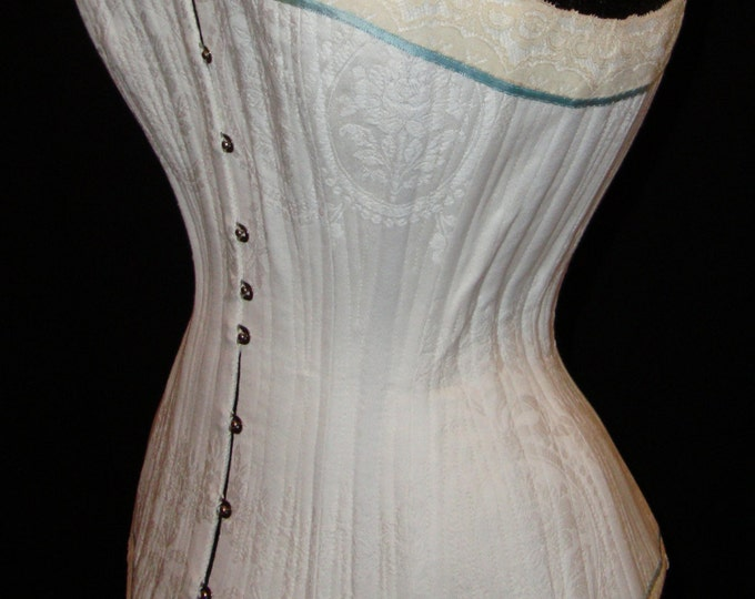 How to make a corset, tutorial into 4  parts + 1 pattern, in English