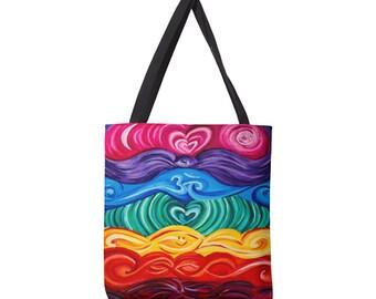 d0aa8929dc Art Chakra Large Tote Bag