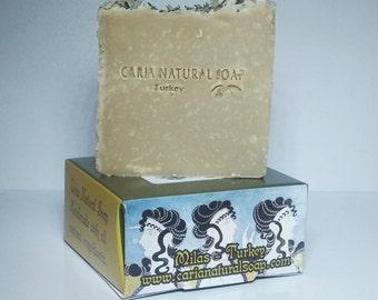 GOAT'S MILK Olive Oil Lavender Honey Handmade All Natural Soap Bar 110g from Turkey