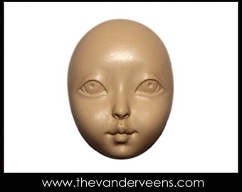 Mold No.136 (Face-Big thin eyelid) by Veronica jeong