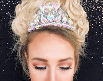 Tiara, Crown, Irish Dance, made of rhinestones