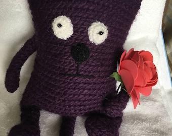 Crochet Eek! The cat