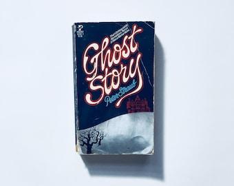 GHOST STORY by Peter Straub / Vintage Horror Supernatural Paperback Book Ghost Storie