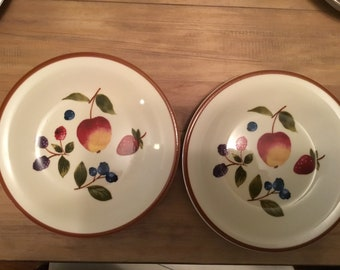 Longaberger Dessert Plates