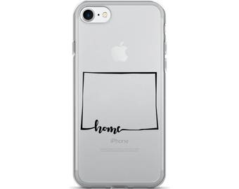 Wyoming Home State - iPhone Case (iPhone 7/7 Plus, iPhone 8/8 Plus, iPhone X)