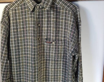 AMECO checked shirt
