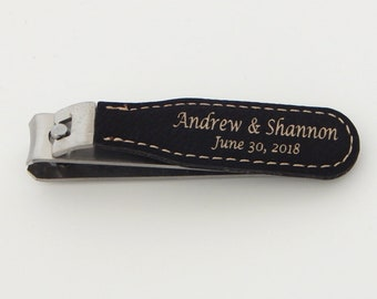 Wedding Party Favors - Thank You Favor Personalized Nail Clippers - Custom Finger Nail Clippers Gifts