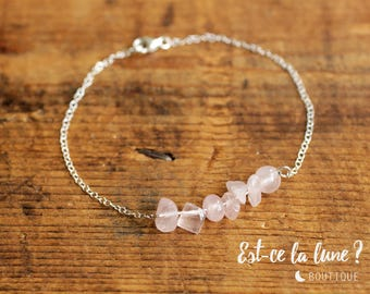 "SILVER 925 - Bracelet ""Beautiful stone"" Quartz"