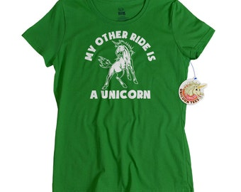 Mothers Day Gifts - Unicorn Tshirt for Women - Gift for Mom or Friend for Mother's Day