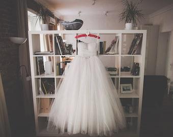 Flower Corset Wedding Dress