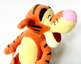Tigger Backpack for Kids - Childrens Backpack - Winnie the Pooh Gift - Kids Backpack Childs Backpack - Pooh Stuffed Animal Plush Toy