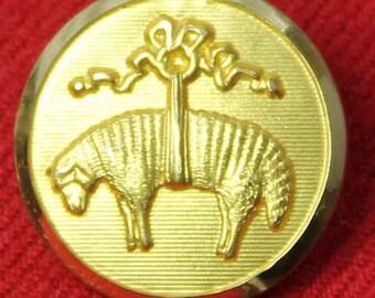 Men's Brooks Brothers Blazer Button Golden Fleece Emblem by Waterbury Gold Brass