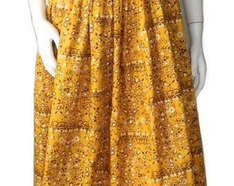Vintage 1950's Cotton Summer Dress Never Worn