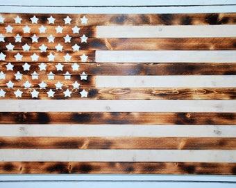Burnt Wood Flag