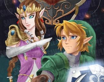 Legend of Zelda - Triforce Trio