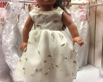 Party dress for American Girl sized doll