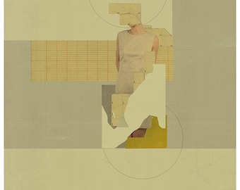 Abstract collage, Abstract composition 70