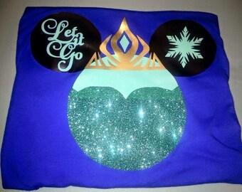 Custom Frozen Inspired Elsa shirt