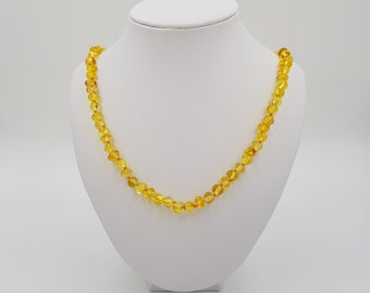Honey Amber Necklace for Children, Teens & Adults