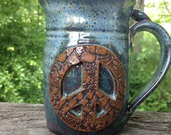 Peace Mug - Coffee Tea Mug for the perfect morning!