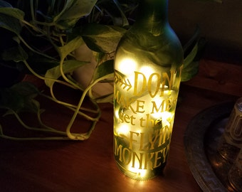 Montreal canadiens go habs go wine bottle accent lamp nhl dont make meget the flying monkeys wine bottle lamp easter birthday negle Image collections