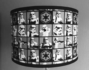 STAR WARS StormTrooper Drum Lamp Shade