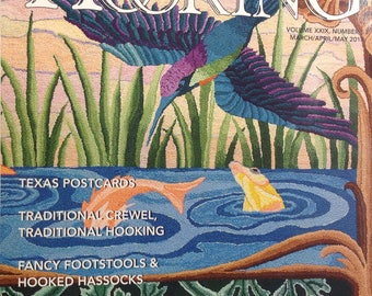 March April May  2018 Rug Hooking Magazine