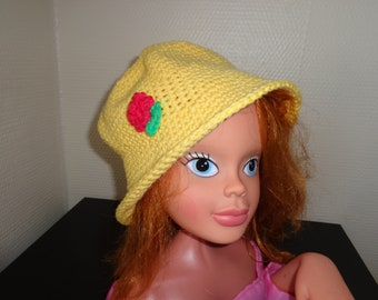 GIRL YELLOW HAT