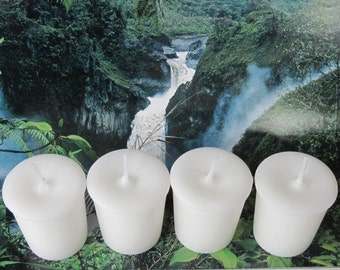 WHITE GARDENIA (4 votives or 4-oz jar candle)