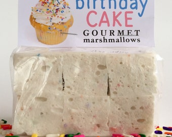 Fresh Gourmet Artisan Birthday Cake Marshmallows **Gluten Free**