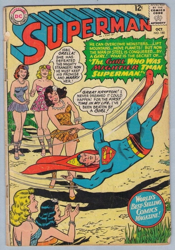 Superman 180 Oct 1965 GD (2.0)